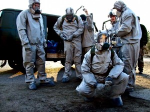 Chernobyl Radiation suits